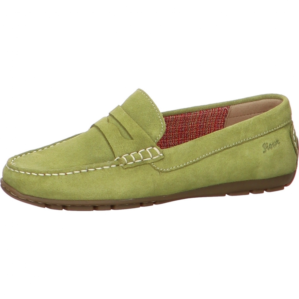 Sioux - Mokassin im Penny-Loafer Style Carmona-700